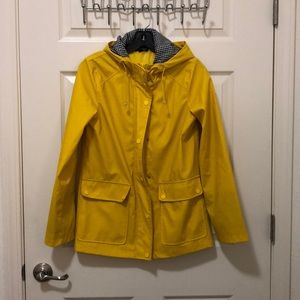 Topshop waterproof raincoat